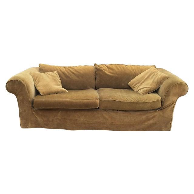 Mitchell Gold Slip Cover Sofa Chairish