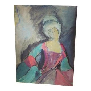 Impressionist Courtesan Painting
