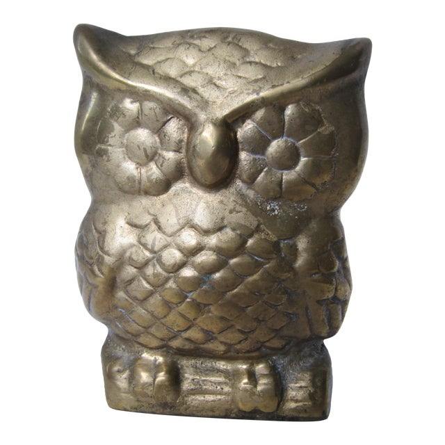 Brass Owl Letter Holder - Image 1 of 5