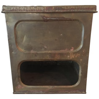 Antique Maryland Bisuit Box