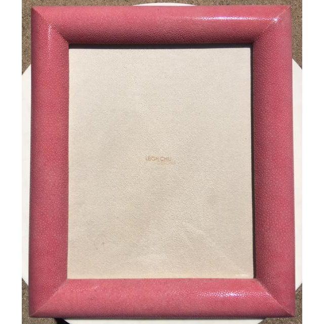 Rose Shagreen Frame - Image 2 of 7
