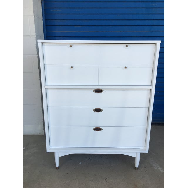 Hooker Mid-Century Lacquered White Chest - Image 2 of 8