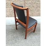 Image of Brown N Saltman Dining Chairs - Four
