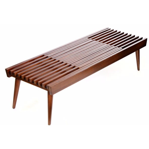 Japanese Expanding Slat Bench Chairish