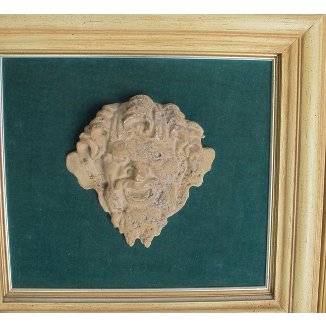 Image of Frammed Vintage Roman Clay Heads