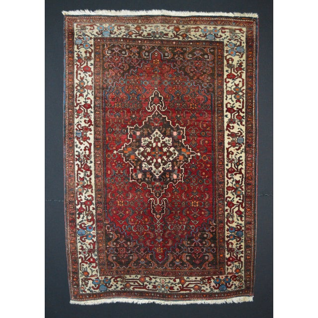 "Vintage Persian Rug - 3'5"" x 5'1"" - Image 2 of 3"